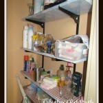shelf before