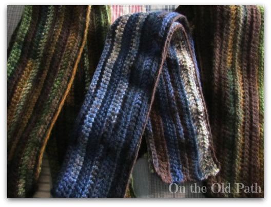 3 scarves