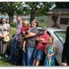 Our fam and new car