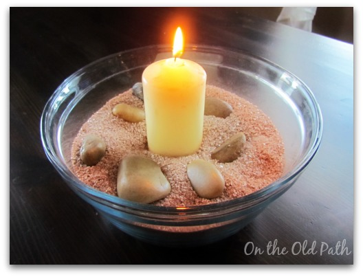 Lent Candle